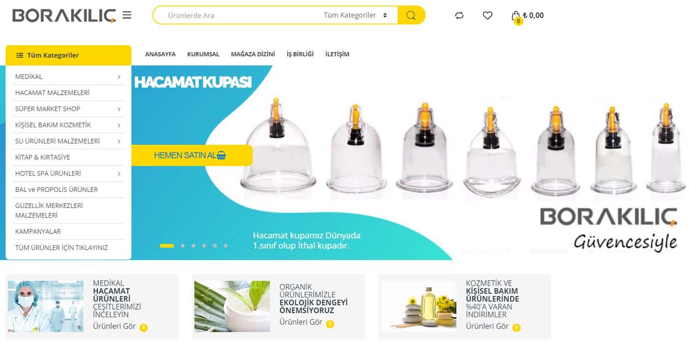 Bora Kılıç Su Ürünleri Online Satış